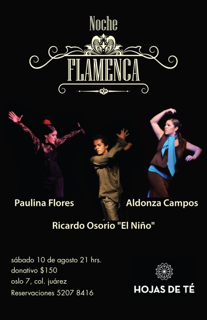 flamenco a tres aldonza