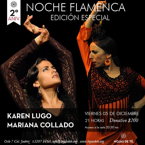 Noche Flamenca Karen + Mariana